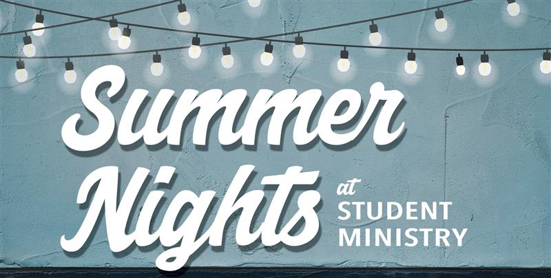 NO Summer Student Ministry @ Wexford