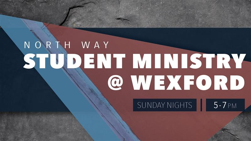 Student Ministry @ Wexford - GROG Night!