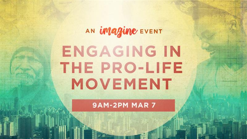 Engaging in the Pro-Life Movement: An Imagine Event