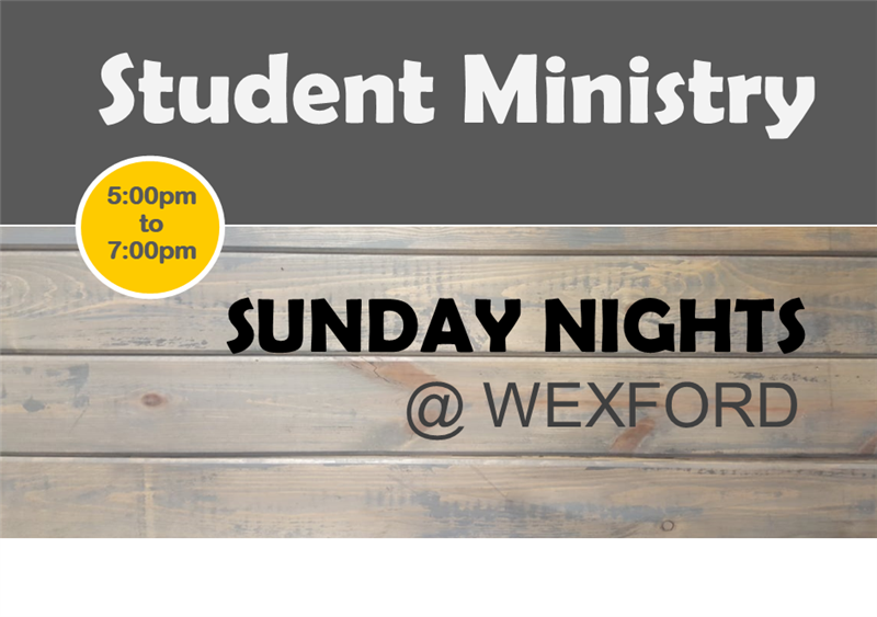 NO Student Ministry @ Wexford