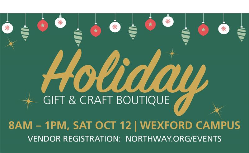Holiday Gift and Craft Boutique
