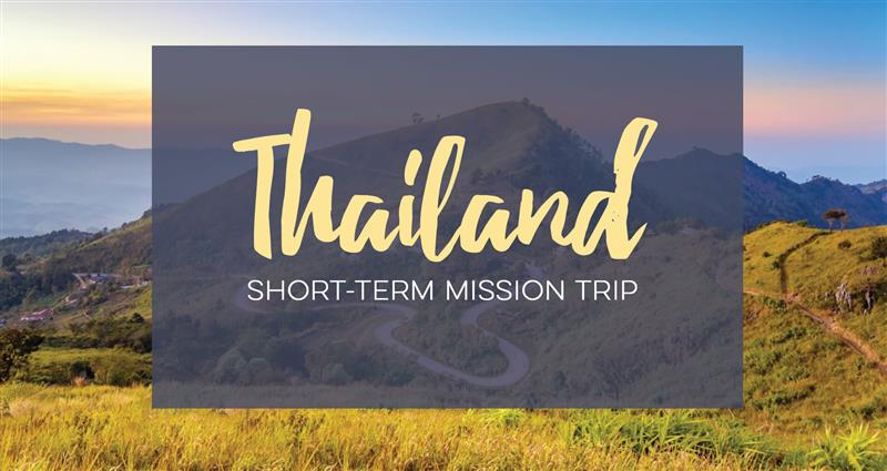 Thailand Mission Trip - January 2020